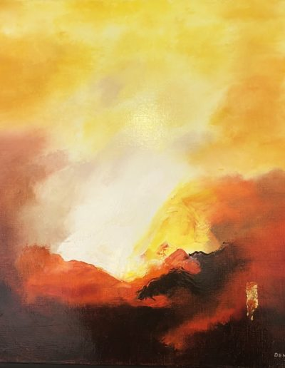 Eruption-50x50cm