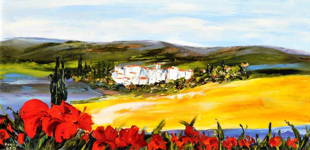 Petit-Village-de-Provence-30x60cm